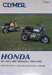 Honda z50, mini trail and ct clymer manual