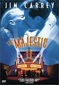 The Majestic-Jim Carrey film/dvd + How the Grinch Stole Xmas