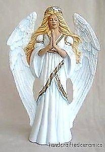 Ceramic Bisque Angels Ebay
