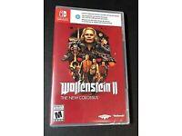 Wolfenstein 2 Nintendo switch