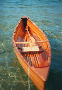 Plank a Wee Lassie canoe with cedar b&c strips for only $ 312.00