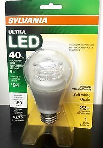 【Sale】LED A19 6W Dimmable $5.00