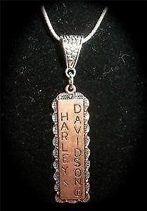 Harley davidson necklace ebay for Harley davidson jewelry ebay