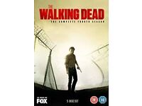 The Walking Dead - The Complete Fourth Season DVD 5 Disc Set