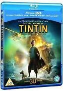 Tin Tin 3D Blu Ray