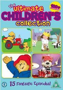 DVD:THE ULTIMATE CHILDRENS COLLECTION - NEW Region 2 UK