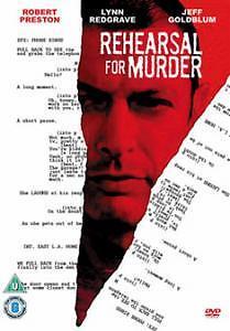 DVD:REHEARSAL FOR MURDER - NEW Region 2 UK