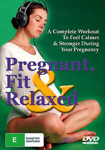 PREGNANT, FIT & RELAXED - PREGNANCY EXERCISE WORKOUT DVD