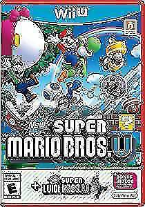 Super Mario Bros U and Super Luigi U (same disc)