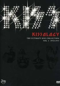 KISS-Kissology Vol 1 1974-1977 bonus disc& backstage '75 iron on