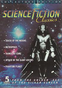 Science Fiction Classics Collectors Edition 5 VHS