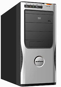 Quad Core Desktop Computer 500 GB HDD 8 GB Ram Win 7