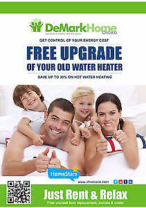 Hot Water Heater FREE UPGRADE - WORRY-FREE Rent to own