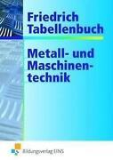 Friedrich Tabellenbuch Metall