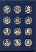 Franklin Mint Presidential Coin Set