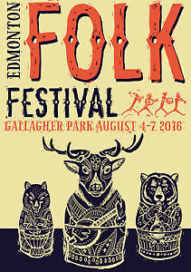 2 Adult Friday Folk Fest Tickets