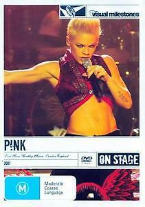 P!NK PINK Live From Wembley Arena Visual Milestones DVD BRAND NEW PAL Region 0