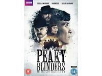 PEAKY BLINDERS - SEASON 1-3 - brand new/sealed in region 2