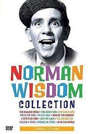 Norman Wisdom Collection [DVD] 12 disc set