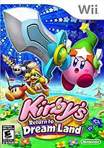 Kirby' Return to Dream Land Wii Game