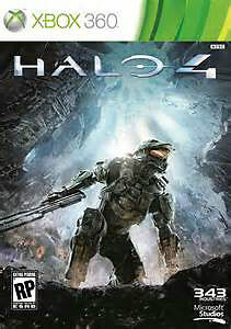 XBOX 360 GAME HALO 4  PRICE OF 8.00$