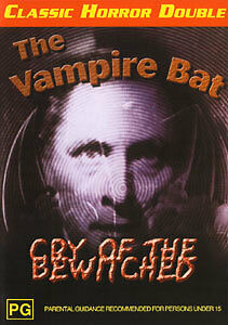 THE VAMPIRE BAT & CRY OF THE BEWITCHED - CLASSIC HORROR DOUBLE FEATURE DVD
