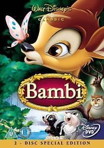 Bambi - 2disc special edition (DVD 2011) Walt Disney Classic