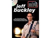 Play Along Guitar Audio CD: Jeff Buckley. Sheet Music guitar TABS, CD not a dvd