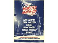 CAPITAL FM MONSTER MASH-UP - DOWNSTAIRS STANDING - EVENTIM APOLLO - FRI 28/10 - £35!
