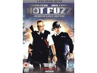 DVD Bundle. (Sean of The Dead + Hot Fuzz + Russel Howard Live + Dara O'Brian Live)
