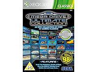 xbox 360 game SEGA Mega Drive Ultimate Collection - Classics (Xbox 360)