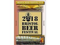 Camra Bristol Beer Festival ticket for Saturday evening 24th March
