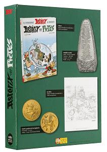coffret Astérix numéroté et pièces bronzes dans le coffret