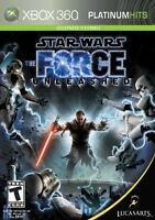 Xbox 360 Star Wars -The Force Unleashed I & II For sale