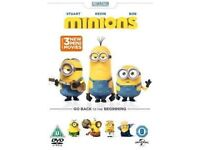 Minions Go Back to the Beginning DVD in sealed cover (BRAND NEW)