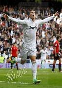 Cristiano Ronaldo Autogramm