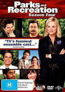 DVD: Parks and Recreation Season Four NEW Sealed Greenwood Joondalup Area Preview