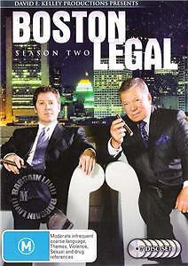 BOSTON LEGAL SEASON 2 : NEW DVD