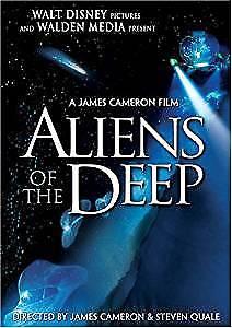 ALIENS OF THE DEEP. JAMES CAMERON. DVD.DOCUMENTAIRE FAUNE MARINE