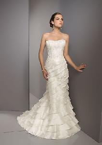 Mori Lee Blue Collection Wedding Dresses Style 4516 Luxe Taffeta