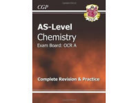AS-Level Chemistry OCR A - The revision guide (Excellent condition)