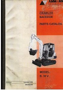 yanmar crawler backhoe b32 b32 1 parts catalog manual