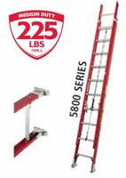 "extention ladder fiberglass Featherheit 5800 24""/l'echelle exten"