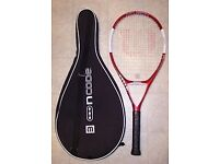 wilson w6 wild crimon tennis racket