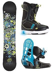 Looking for Woman's Snowboarding setup