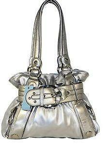Kathy Van Zeeland Silver Handbag 806da49f3f13e