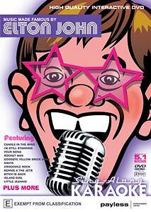 SING-ALONG KARAOKE - ELTON JOHN DVD