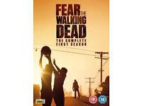 FEAR THE WALKING DEAD - SEASON 1 - brand new/sealed