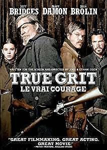 True Grit-2010 Remake with Jeff Bridges,Matt Damon-DVD-like new