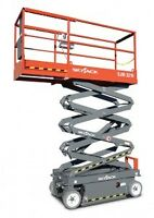 FOR RENT 25ft HEIGHT INDOOR SCISSOR LIFT FREE DELIVERY IN GUELP